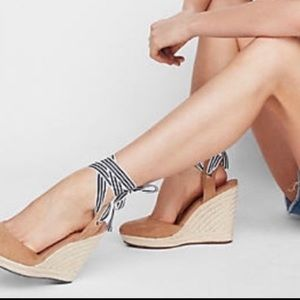 Express Closed Toe Espadrille Wedge
